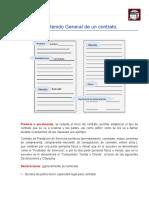 Estructura General Del Contrato (Contenido)