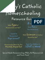 Todays Catholic Homeschooling Resource Guide PDF