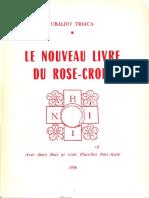 Le Nouveau Livre du Rose-Croux