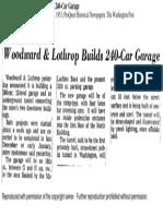 Woodward and Lothrop Builds 240 Car Garage