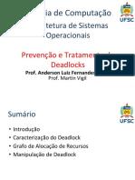 Prevencao e Tratamento de Deadlocks