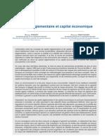 Capital réglementaire et capital économique