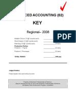 02-Advanced Accounting R 2008 KEY