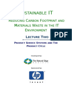 Sustainable IT Lecture 2