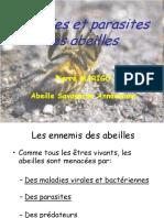 Maladies Et Parasites Des Abeilles