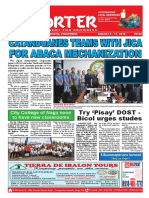 Bikol Reporter August 5 - 11, 2018 Issue