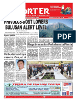 Bikol Reporter August 19 - 25, 2018 Issue