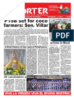 Bikol Reporter September 2 - 8, 2018 Issue