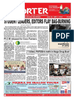 Bikol Reporter August 26 - September 1, 2018 Issue