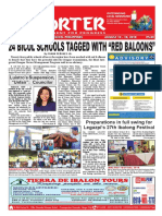 Bikol Reporter August 12 - 18, 2018 Issue