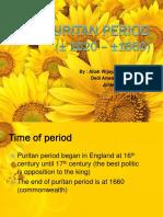 Puritan Period 2.PptxPuritan Period 2