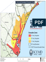 Northern Coast - Horry and Georgetown Evacuation Zones