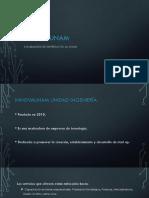 Programa de Incubación de empresas UNAM