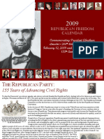 Republician Party Calendar