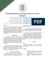 Informe- Lecho Fluidizado