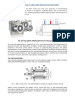 Cooling System of High Power Synchronous Generator