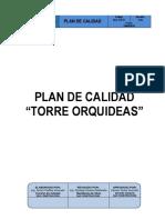 Plan de Calidad TORRE ORQUIDEAS