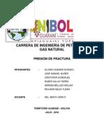 Carrera de Ingeniería de Petróleo y Gas Natural