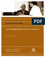 Libya's Foreign Policy