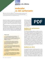 2006 Diagnóstico Molecular de Los Defectos Del Surfactante. APC
