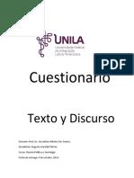 Texto y Discurso. (Cuestionario).docx