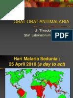 18. OBAT-OBAT ANTIMALARIA + ppt