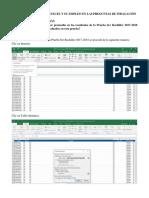 Tablas dinámicas con Excel y su empleo en las preguntas de indagación.