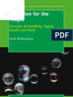 Education for the People - Concepts of Grundtvig, Tagore, Gandhi and Freire