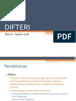 25. 2018 Blok 27 Difteri