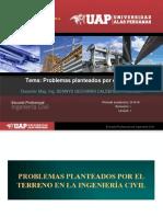 SUELOS 05 Problemas planteados por el terreno en la Ingenieria Civil.ppt