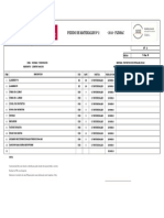 Pedido de Materiales 002 - Sodimac Porongoche