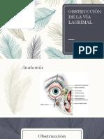 Obstrucción de la vía lagrimal