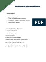 Ejerciciio Sobre Ecuaciones de Primer y Segundo Grado
