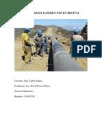 Monografia Gasoductos en Bolivia