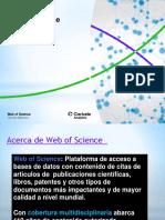 Capacitación Web of Science UNSA