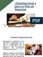 Analisis Organizacional y Lega Lpara Un Plan de Negocios