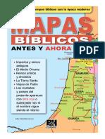 Mapas bíblicos, antes y ahora