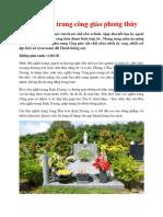 Đất Nghĩa Trang Công Giáo Phong Thủy