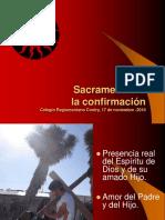 Sacramento Confirmacion Web