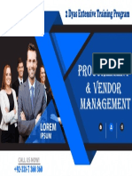 Procurement and Vendor Management Training Workshop in Islamabad