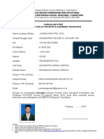 Form CV Peserta Juanda