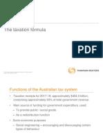 The Tax Formula-1