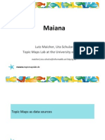 Maiana - The social Topic Maps explorer