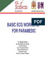 Basic ECG Workshop for Paramedics