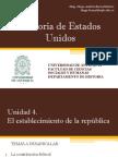 Unidad 4 El establecimiento de la República (Avance)