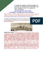 Tesoro Ballenero y Rutas Del Ámbar. Hipótesis Sobre Los Orígenes Del Megalitismo y Su Secuencia en Tartessos (Una Interpretación de Jonás)