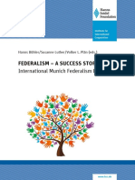 Federalism - A Success Story