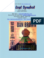 The Lost Symbol Indonesian Version Pharmaceutical Sciences