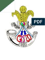 Sri Lanka Light Infantry Badge New