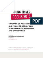 Rawlings 2015 Young Driver Focus Summary of Presentations